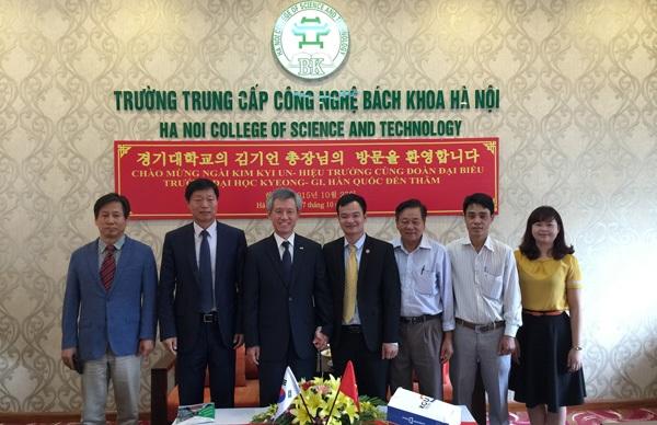 Lễ ký kết chương trình trao đổi sinh viên giữa HPC và ĐH Kyonggi (Hàn Quốc)