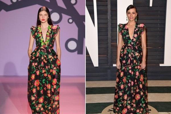 Rashida Jones trẻ đẹp trong bộ váy hoa Andrew Gn