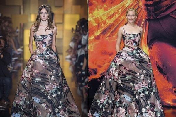 Elizabeth Banks trẻ trung chẳng kém gì siêu mẫu trong bộ váy Elie Saab thu đông 2015