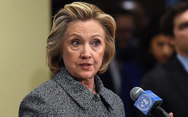 Cựu Ngoại trưởng Mỹ Hillary Clinton. (Ảnh: AFP)