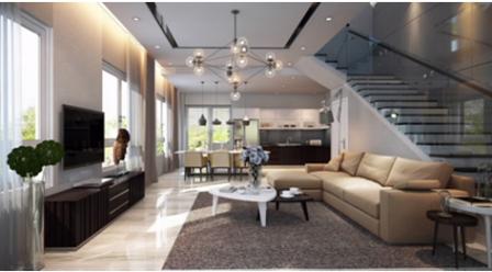 Melosa Garden có thiết kế hiện đại, mang phong cách châu Âu, được các kiến trúc sư chăm chút từng chi tiết nhỏ, tạo sự tinh tế, hài hòa giữa nội thất với cảnh quan, đem lại góc nhìn thẩm mỹ.