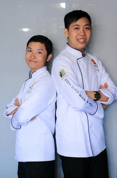 Với sức trẻ và đam mê của mình, hy vọng hai bạn trẻ sẽ thực hiện được hoài bão và đưa ẩm thực Việt Nam vươn tầm quốc tế. (Ảnh: Luýt Nguyễn)