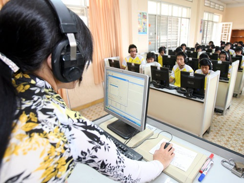 Sử dụng phương thức đào tạo online tạo điều kiện cho các thầy cô có thể học mọi lúc, mọi nơi