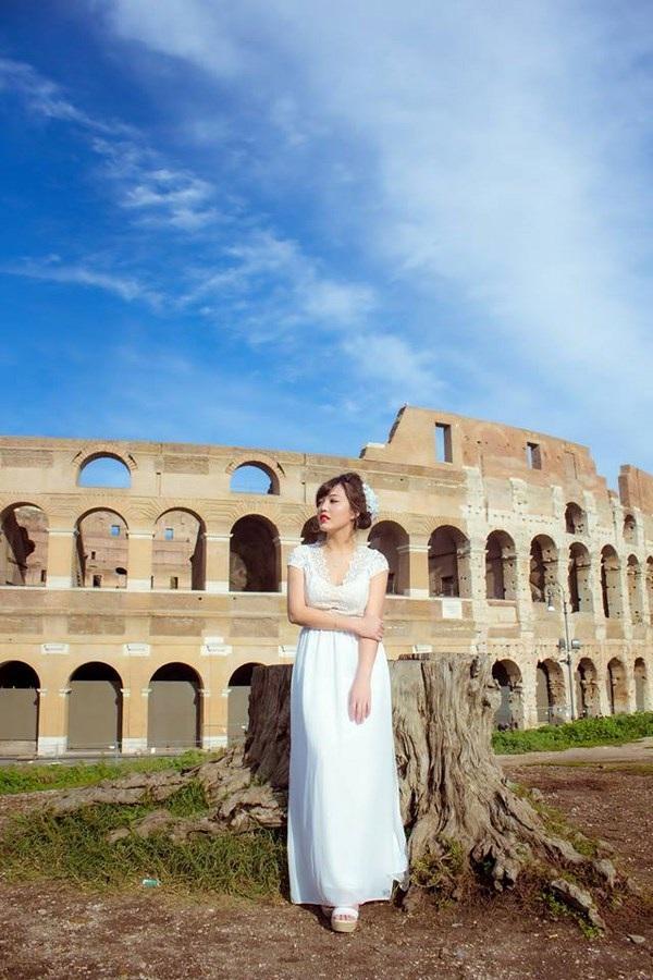 Nữ thạc sĩ 9X tươi tắn giữa ánh nắng trong veo thành Rome - 11