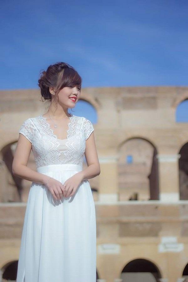 Nữ thạc sĩ 9X tươi tắn giữa ánh nắng trong veo thành Rome - 4