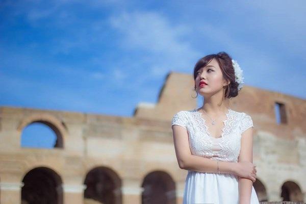 Nữ thạc sĩ 9X tươi tắn giữa ánh nắng trong veo thành Rome - 5