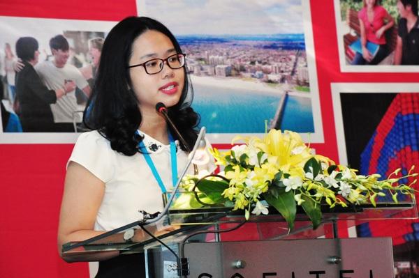 Huyền Chi hy vọng thông qua mạng lưới bạn bè trên mạng xã hội cũng như các hoạt động quảng bá, các bạn HS, SV Việt Nam sẽ biết nhiều hơn tới cơ hội học tập tại bang Nam Úc.