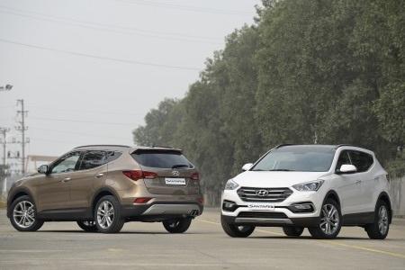 Hyundai SantaFe 2016 - Những thay đổi tinh tế - 1