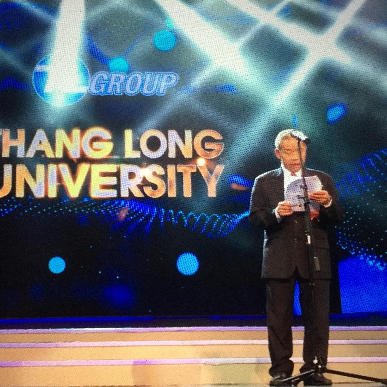 Một nguyên lãnh đạo Quốc hội cũng đến dự sự kiện của Thăng Long Group, Ảnh: Mạnh Quân