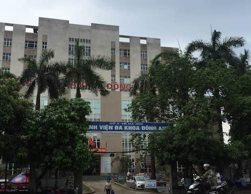Thanh tra làm rõ tố cáo tiêu cực tại Bệnh viện đa khoa Đông Anh.