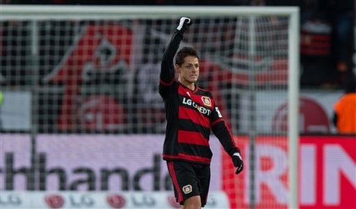Leverkusen định giá Chicharito vào khoảng 25 triệu bảng