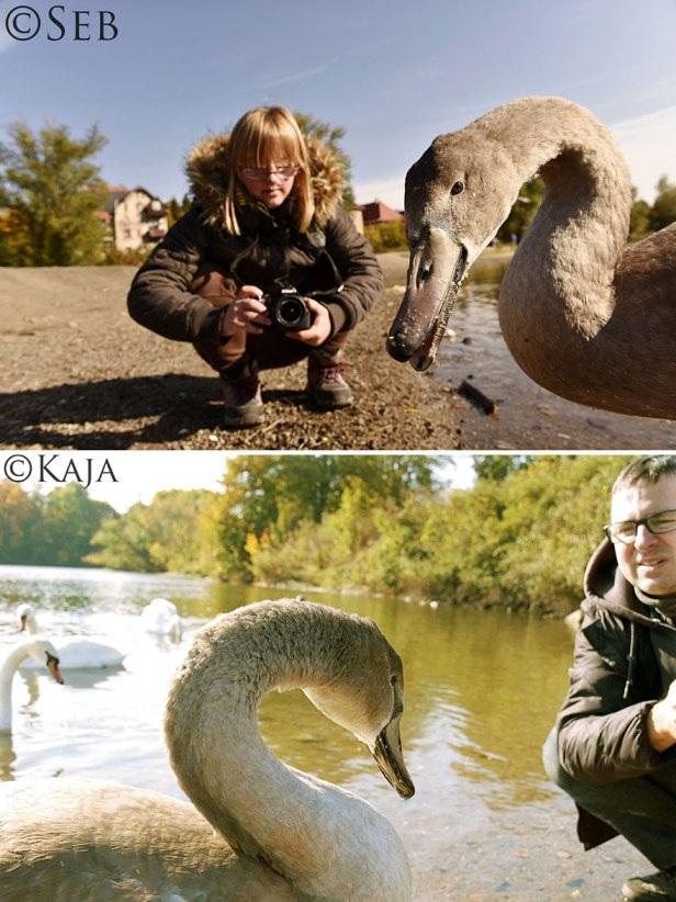 Nhiếp ảnh gia chuyên nghiệp học chụp ảnh từ cô con gái bị down - 9