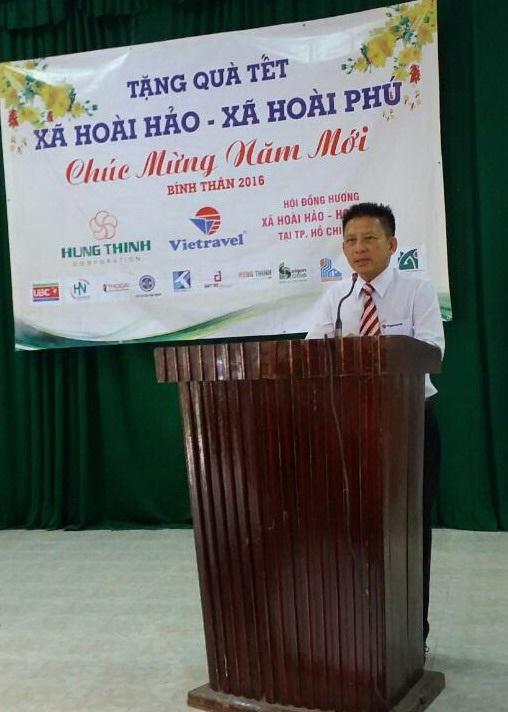 Vietravel trao tặng 300 phần quà hỗ trợ hộ nghèo huyện Hoài Nhơn vui đón Tết - 2