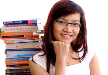 Cô giáo tiếng Anh Vũ Thị Mai Phương