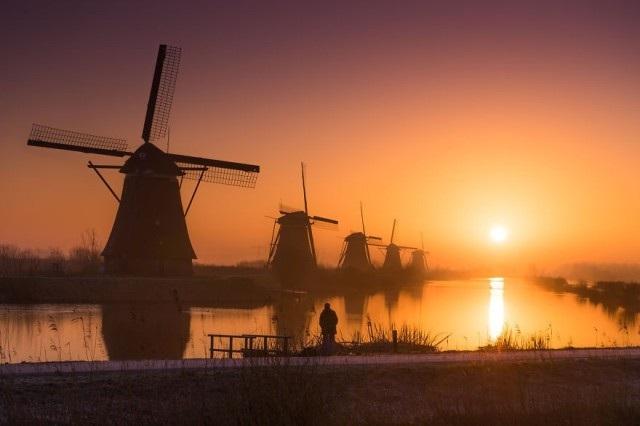 Những bức ảnh đẹp mê hồn ở vùng đất thần tiên Hà Lan - 9