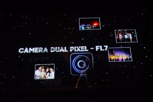 Khẩu độ F1.7 và công nghệ Dual Pixel của camera Galaxy S7 và Galaxy S7 edge được trình diễn đầy độc đáo trên sân khấu 3D