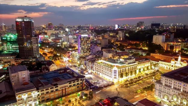 Cảnh đêm Sài Gòn qua ống kính thách thức màn đêm của Galaxy S7
