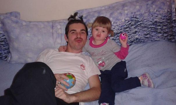 Những khoảnh khắc đáng ngưỡng mộ về bố và con gái - 10