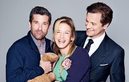 """Bộ ba diễn viên chính của """"Bridget Jones's baby"""""""