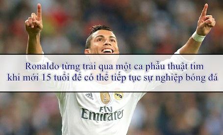 Những bí mật ít ai biết về C.Ronaldo - 2