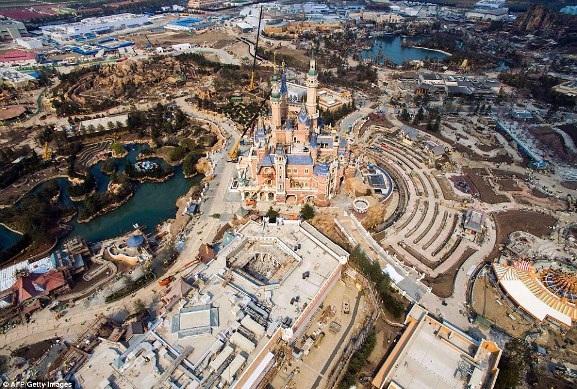 Ảnh chụp trên không về Disneyland Thượng Hải: Cháy vé khai mạc chỉ trong vài giờ - 8