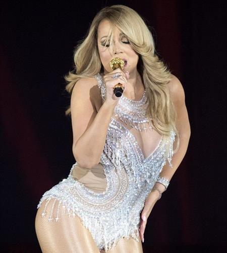 Mariah Carey rất quyết tâm giảm béo