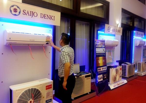 Hơn 40.000 bộ điều hòa không khí các model khác nhau của Saijo Denki đã được AMD Group nhập về Việt Nam.
