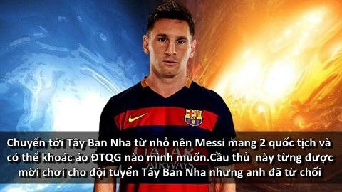 Những bí mật ít người biết về Lionel Messi - 4