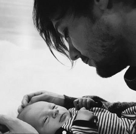 Louis rất hạnh phúc khi được làm bố