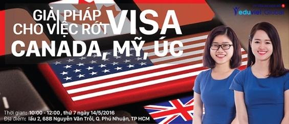 Giải pháp cho việc rớt visa Canada, Mỹ, Úc – Hướng đi nào là đúng cho bạn? - 1