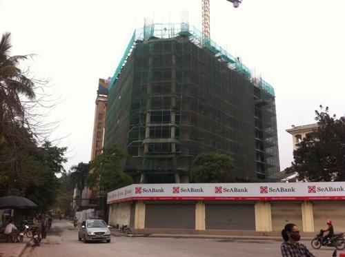 Dự án đang xây tới tầng thứ 17