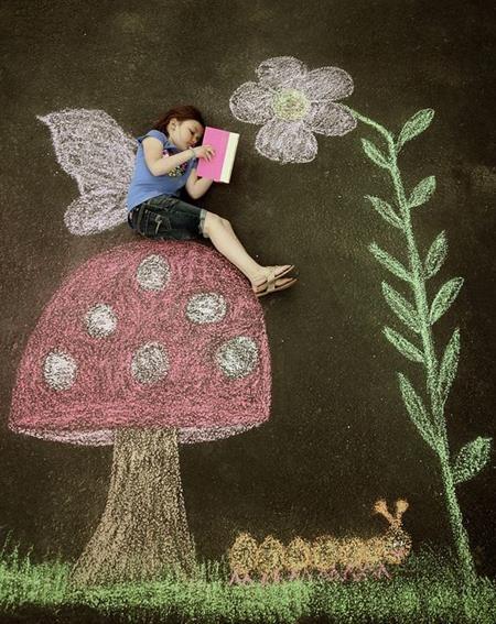 Làm một cô tiên chăm đọc sách