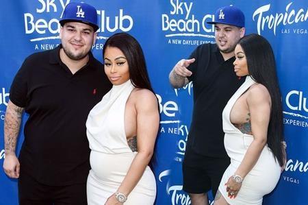 Rob Kardashian và Blac Chyna sẽ đón chào con đầu lòng vào cuối năm nay