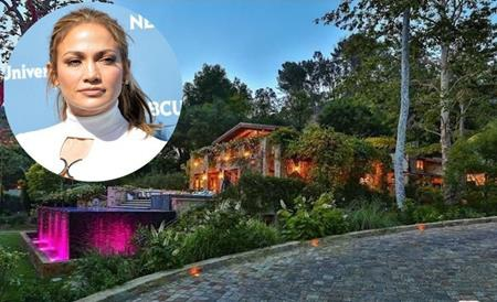 """Jennifer Lopez vừa """"bạo chi"""" tới 28 triệu đô la để mua nhà mới"""