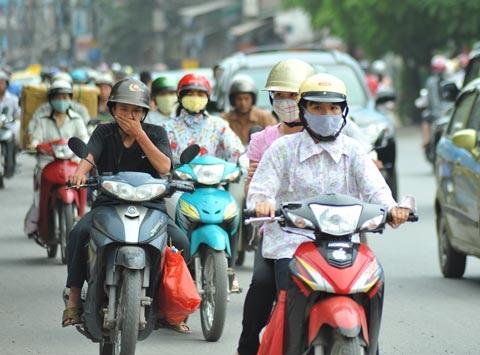 Ô nhiễm ở các thành phố lớn ngày càng nặng nề