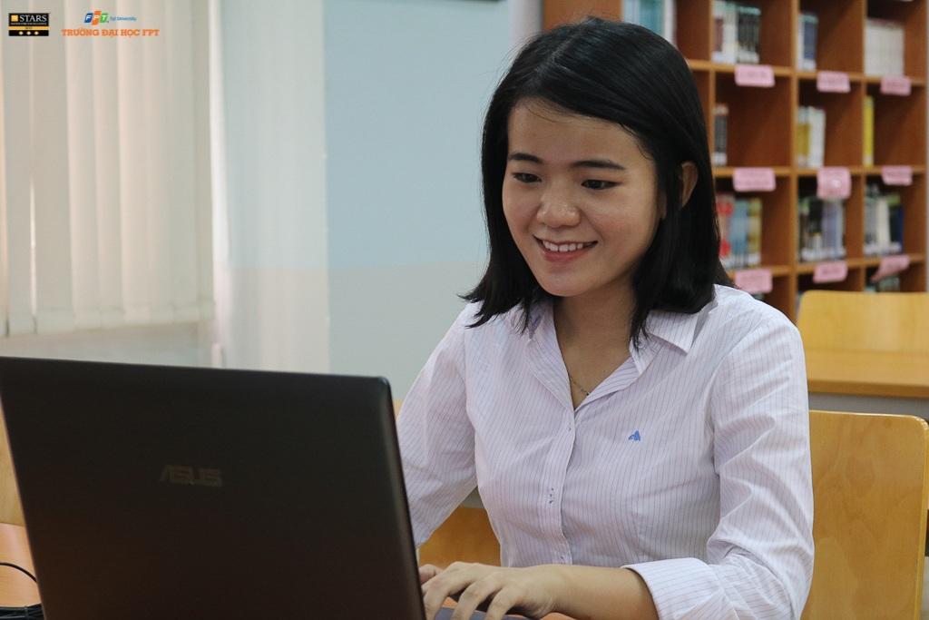 Võ Thị Mỹ Quỳnh - Cựu sinh viên Đại học FPT giải đáp thắc mắc của bạn đọc về kỹ năng cần chuẩn bị cũng như cơ hội tìm việc làm tại xứ sở Hoa anh đào.