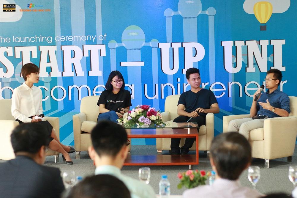 Bắt đầu con đường khởi nghiệp ngay trên ghế giảng đường đại học đang là lựa chọn của không ít các bạn trẻ Việt Nam hiện nay.