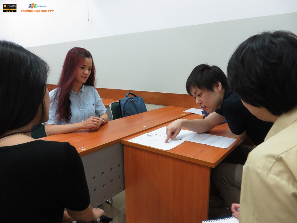 Doanh nghiệp Nhật Bản đến trường tuyển dụng sinh viên Đại học FPT.