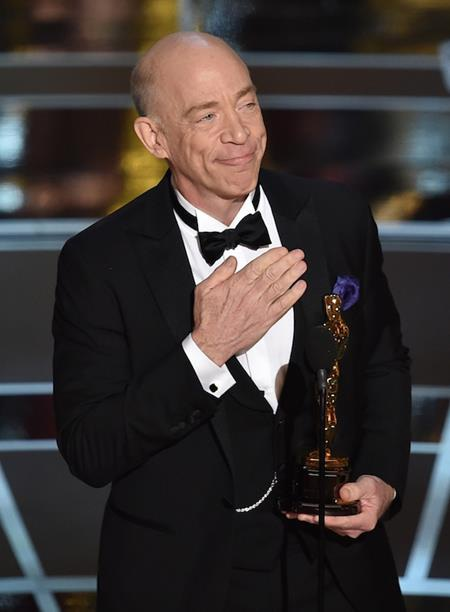 """J.K. Simmons từng giành giải Oscar với vai diễn trong phim """"Whiplash"""""""