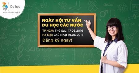 Ngày hội tư vấn du học các nước – nộp hồ sơ cho kỳ nhập học gần nhất - 1