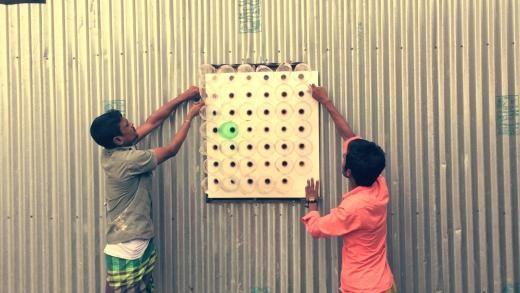 Làm máy lạnh sinh thái từ những chai nhựa - 3