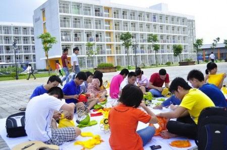 Học sinh THPT FPT được khuyến khích tham gia các hoạt động ngoại khoá, câu lạc bộ sở thích.