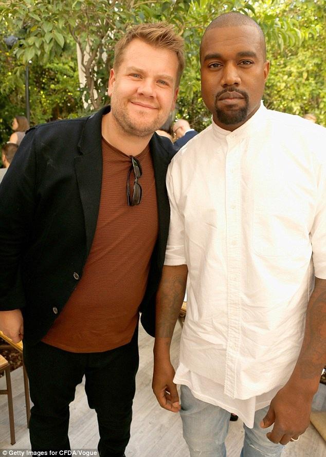MC James Corden - người nổi tiếng với chương trình hát karaoke trên ô tô cùng sao mới tiết lộ với báo giới rằng Kanye West đã 2 lần hủy kế hoạch tham gia show này của anh