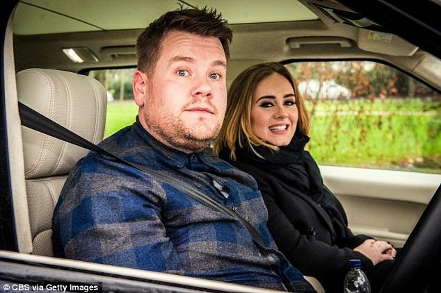 Nam MC có thành công đầu tiên với khách mời VIP Adele. Clip này của họ đạt gần 130 triệu lượt xem trên Youtube tính tới thời điểm hiện tại và nhờ Clip này mà James đã mang được show của mình tới Hollywood