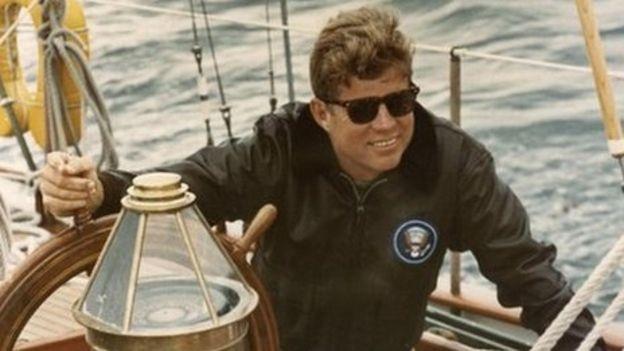 Cựu Tổng thống Mỹ John F Kennedy. (Ảnh: Reuters)