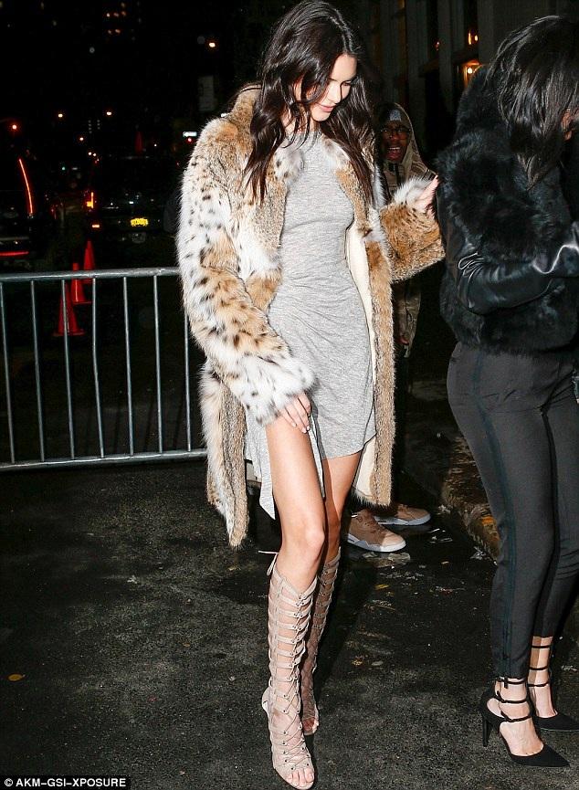 Kendall là siêu mẫu nổi tiếng nhất nhì nước Mỹ hiện nay