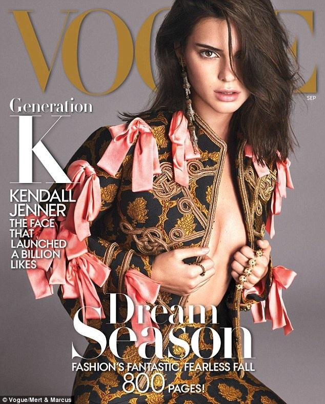Là gương mặt trang bìa của tạp chí Vogue là niềm mơ ước của mọi người mẫu