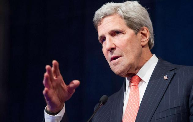 Ngoại trưởng Mỹ John Kerry. (Ảnh: AFP)