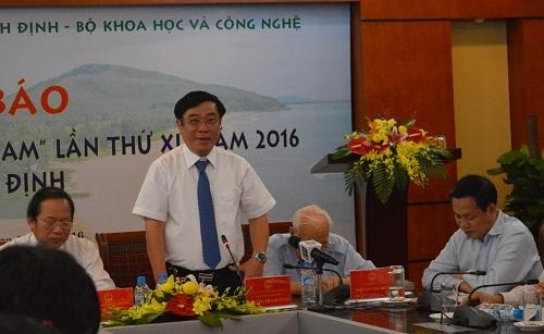 Ông Nguyễn Thanh Tùng - Bí thư Tỉnh Bình Định chia sẻ về những sự kiện diễn ra trong Gặp gỡ Việt Nam năm 2016