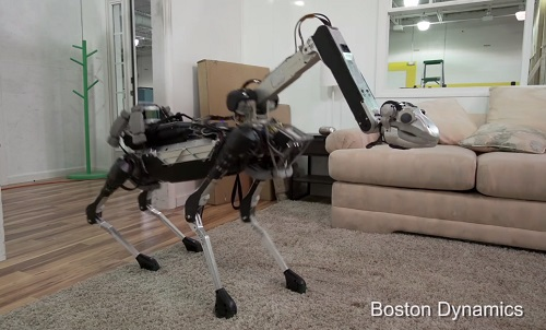 Kinh ngạc về mẫu robot có thể làm được việc nhà - 1